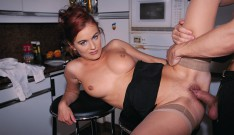 Suzan Wienold, Pretty Redheaded Teen in Private Anal Casting